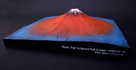 2014年1月31日発売  北斎の浮世絵・赤富士の立体版!