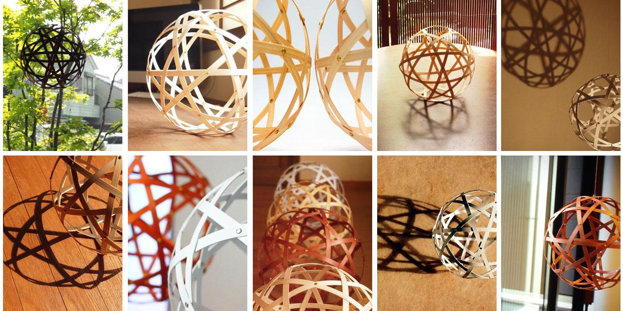 有限会社アイブレーション、連なった12の星形で1個の球体を形作るデザインの室内装飾品「StellarOrb #36 Planet」を発売