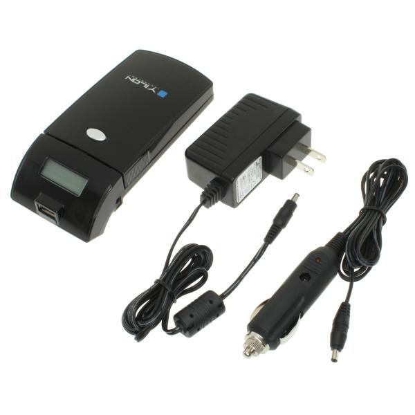 【上海問屋限定販売】 コレ1つで様々なバッテリーに対応 自宅のコンセント以外に車でも充電可能 マルチバッテリーチャージャー 販売開始