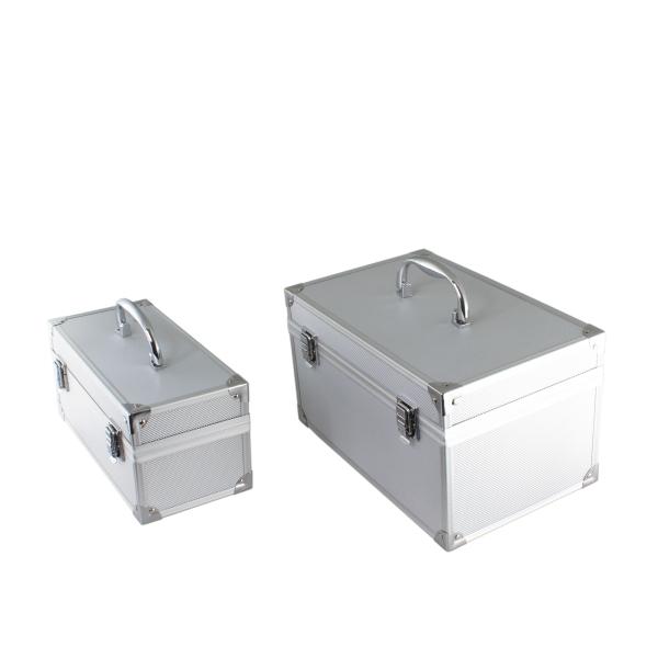 【上海問屋限定販売】 増え続けるハードディスクを美しく安全に保管しよう ジュラルミンケース風 内蔵ハードディスク収納ケース売開始