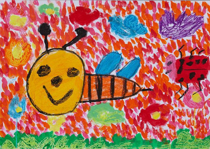 ~ ミツバチの一枚画を通して自然環境の大切さを学ぶ ~ 第2回「ミツバチの一枚画コンクール」開催 応募期間:2014年3月8日(土)~2014年6月30日(月)