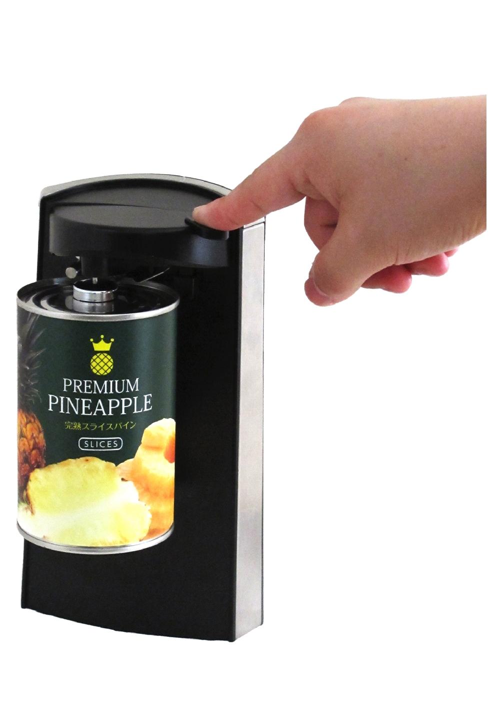 電気の力でらくらく自動開封 電動缶切り  電動缶切り 正宗CO2061を7月31日に発売