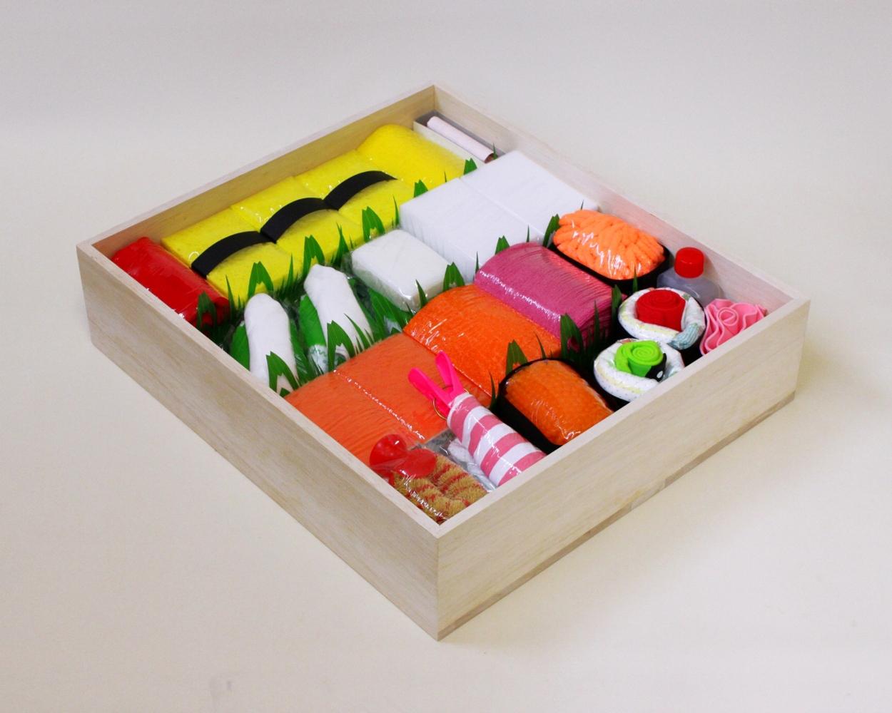ニッポンのココロ、世界にお届け致します。 ユニーク出産祝い『おむつ寿司』海外販売開始。