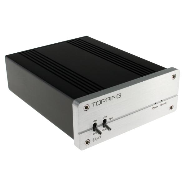 【上海問屋限定販売】  スピーカー・ヘッドホンアンプへの出力元に最適な単体DAC 16bit 48kHz USBダック 販売開始