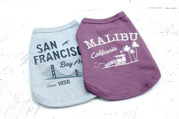 飼い主も着たくなる犬服、California Vintage マリブドッグマーケットから、犬服の新ブランドの発表です。
