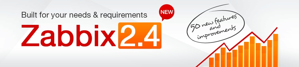Zabbix社、Zabbix 2.4のリリースを発表 – ユーザーからの要望が最もが多かった機能の追加や改善を行い、ユーザーニーズにあったオールインワン監視ソリューション新バージョンをリリース –
