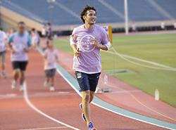 プロサッカー選手 細貝萌選手と患者さんのためにいっしょに走ろう! 「6 Minutes Run for CTEPH(シックス・ミニッツ・ラン・フォー・シーテフ)」 ランニングイベント参加者募集のご案内