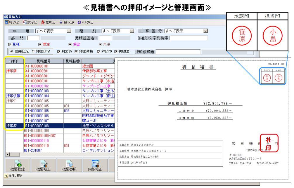 OSK ≪押印機能の搭載や、他システムとの連携機能の強化で、さらに利便性を高めた見積管理システム『POWER見積 Rel.3』を発売≫