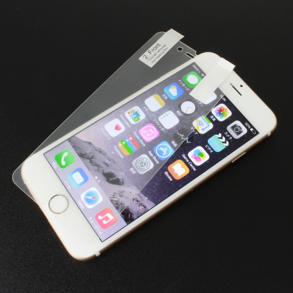 【上海問屋限定販売】iPhione6・iPhone6 Plusの液晶をキズから護ろう プラスチックでありながら表面硬度8H プラスチック素材 iPhone6・Plus専用保護シート 販売開始