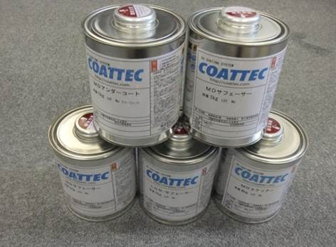 試作工程の下地処理に実績のあるUV塗料 3Dプリンターの試作製品の仕上げ剤として販売強化 MDシリーズを3月3日から正式販売スタート