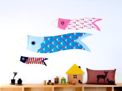 京都精華大学デザイン学部の学生との共同開発 世界8ヶ国をモチーフにしたタペストリー型こいのぼり 「Swing Swing(スイスイ)」1月より販売開始 ~部屋に飾れる雑貨感覚の新しい鯉のぼりを提案~