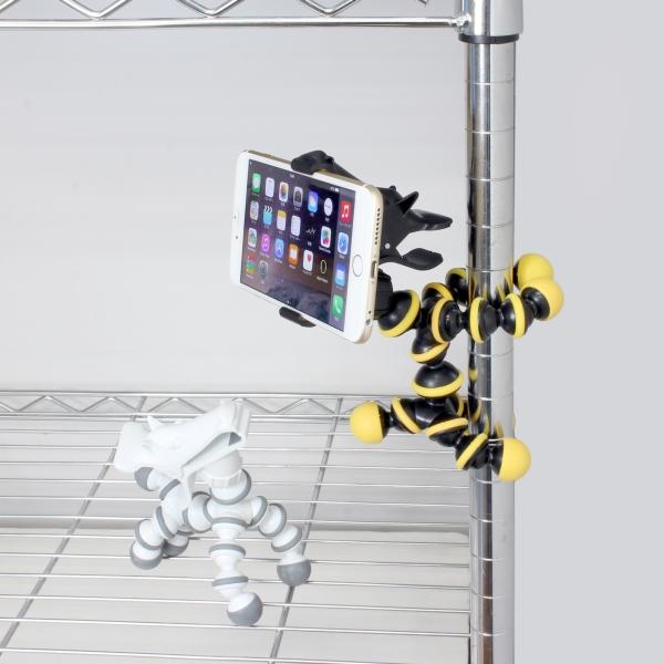 """【上海問屋限定販売】""""カワイイ""""と思わず声が出るスマホスタンド あらゆる所に巻き付くから 様々な場所で大活躍 ウマ型スマホ・iPhoneスタンド 販売開始"""