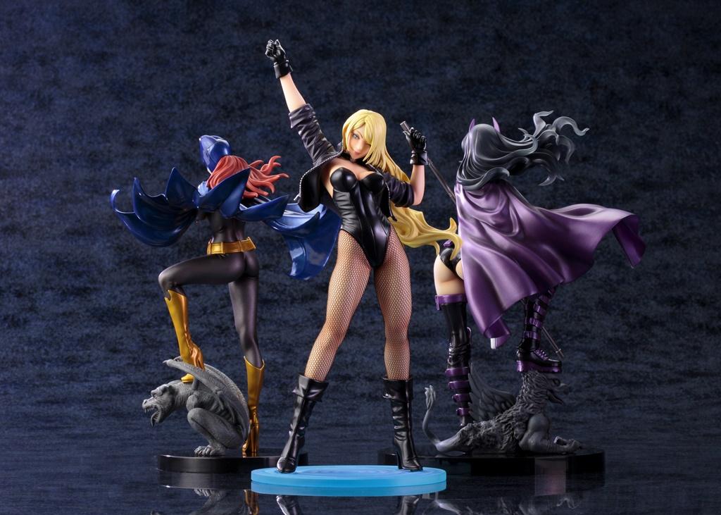 DC COMICSのキャラクターを山下しゅんや氏が描き下ろしたイラストを元に立体化!ゴッサムシティの影の守護者「DC COMICS美少女 ブラックキャナリー」フィギュア