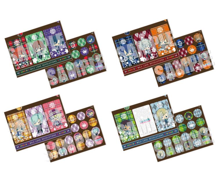 大人気アニメ『うたの☆プリンスさまっ♪ マジLOVEレボリューションズ』よりデフォルメイラストを使用したキュートなクリアファイルセットが登場!