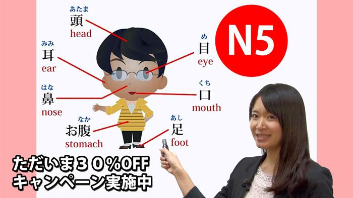 オンライン学習プラットフォームUdemy(ユーデミー)でキャンペーン開始、「外国人のための日本語能力試験学習 N5コース」(全15課)が今なら割引30%OFF!