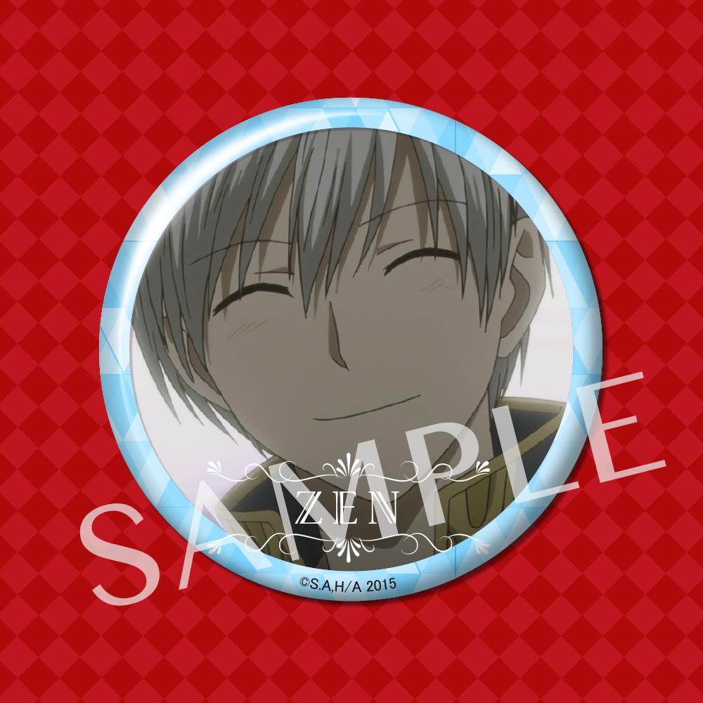 2016年1月よりTVアニメ第2期放映開始『赤髪の白雪姫』 アニメの名シーンを切り取った缶バッジが登場!2016年3月発売