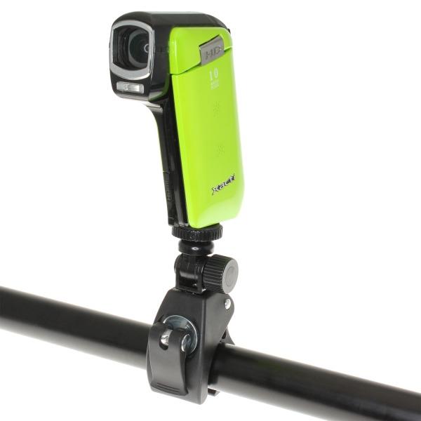 【上海問屋限定販売】 サイクリングの風景を動画に残そう 自転車用カメラクランプ 販売開始