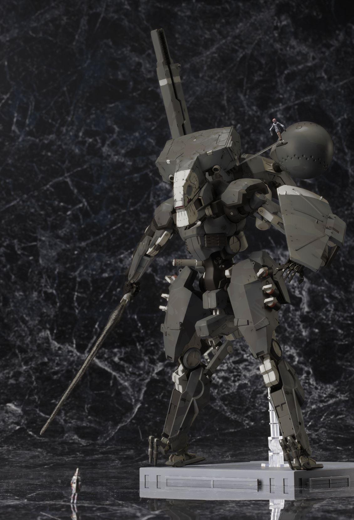 人気ゲーム『メタルギア ソリッド V ファントムペイン』より 「メタルギア サヘラントロプス Black Ver.」のプラモデルが6月発売