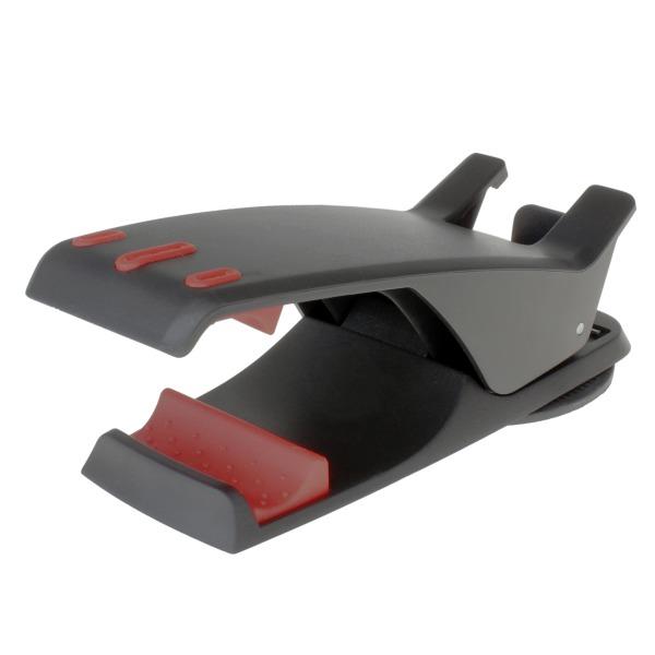 【上海問屋限定販売】 車内インテリアをそこねない 片手で簡単設置 クリップ型車載用スマホホルダー 販売開始