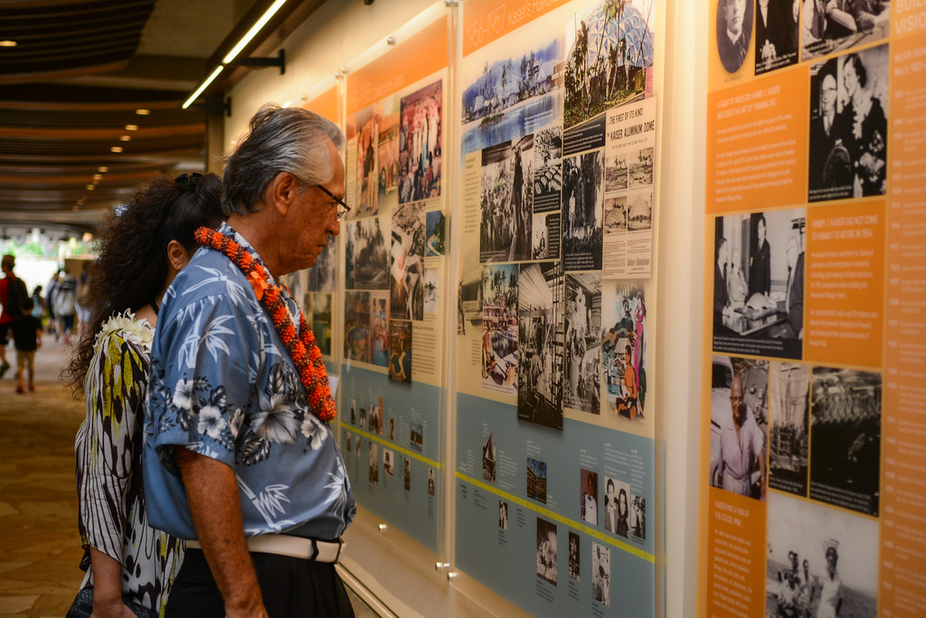 ヒルトン・ハワイアン・ビレッジ 創立55 周年を記念した「History Wall」をタパタワーに展示