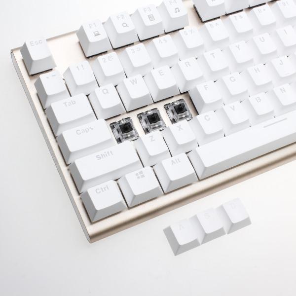 【上海問屋限定販売】 美しすぎるキーボード 機能美と色彩美の融合 中華黒軸・青軸 USBキーボード 販売開始