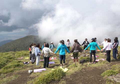 2012.10駒ヶ岳天空ヨガ