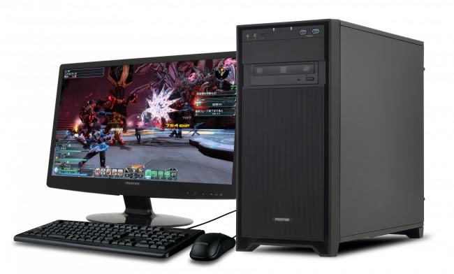 【FRONTIERゲーマーズ】 PHANTASY STAR ONLINE2推奨GeForce GTX 1060(3GB)搭載ゲーミングパソコン