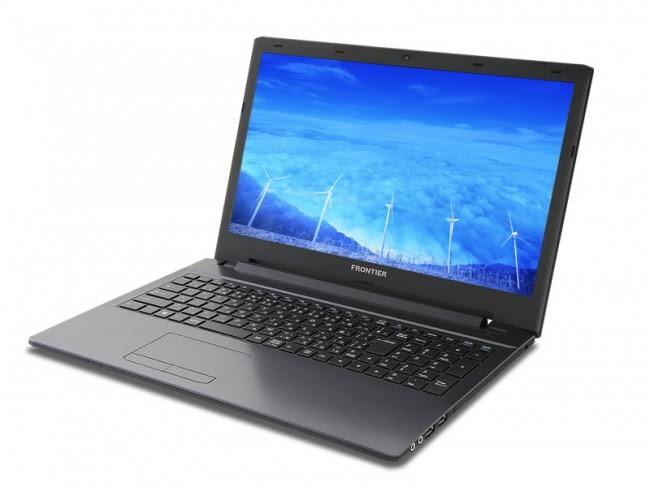 【FRONTIER】モバイル用第7世代CPU搭載 低価格帯ノートパソコン 新発売 ~ご家庭でもオフィスでも役立つ充実の機能を装備~