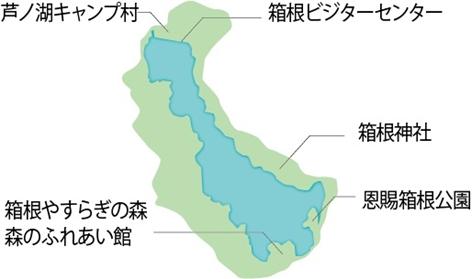 芦ノ湖周辺エリア