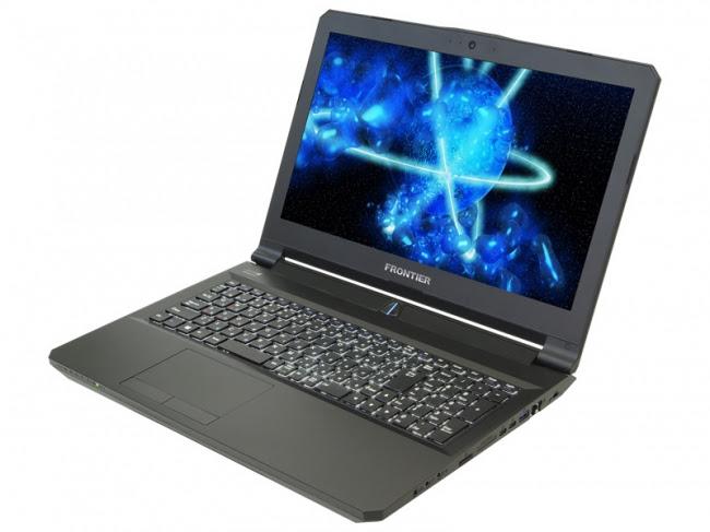 【FRONTIERゲーマーズ】PHANTASY STAR ONLINE2推奨認定取得 GeForce GTX 1060搭載ゲーミングノートPC