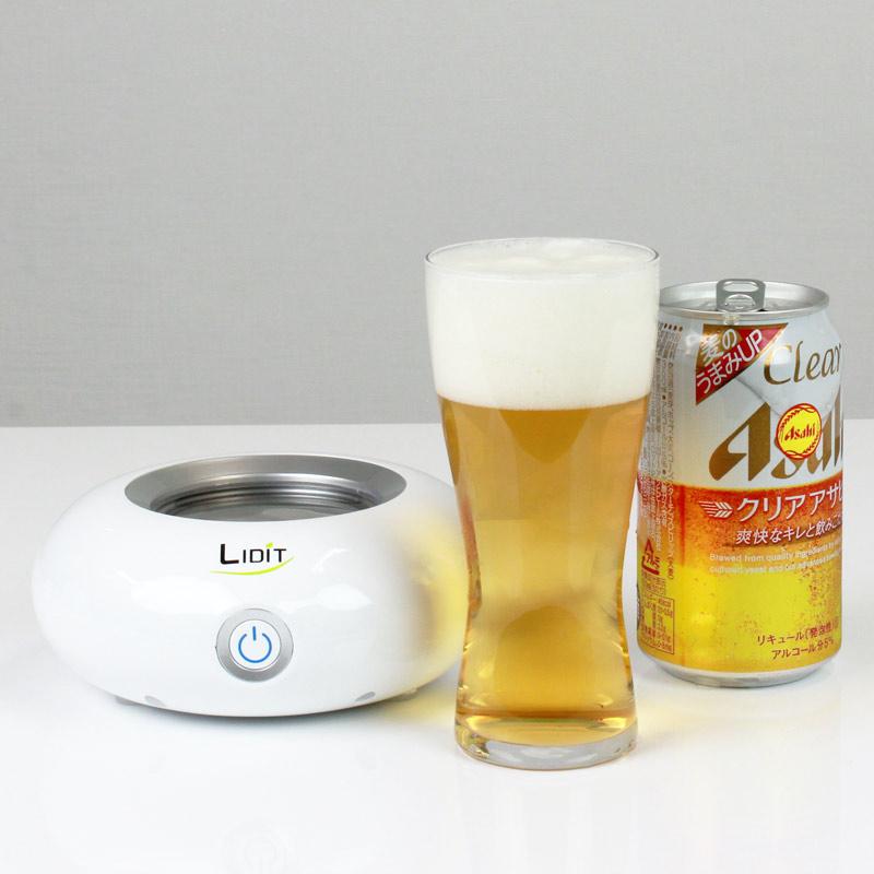 【上海問屋限定販売】 自宅でバーのような旨いビールを飲もう 味わい深いクリーミー泡を簡単に作れる 超音波クリーミー泡生成機 販売開始
