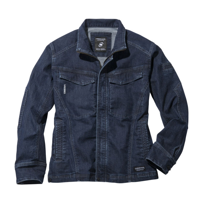 <br />服装解剖学から生まれた機能性作業着「ベルデクセル(R)オリジナルズ」異次元ストレッチデニム採用モデル 2017年10月新発売<br />「高機能&ファッション性」で作業者の生産性向上をサポート<br /> <同時調査:作業服に関する利用実態・意識調査> 作業服に求めるポイントBEST3は、<br />「涼しさ・吸汗(機能性)」「ストレッチ(機能性)」「見た目(デザイン性)」<br />見た目でも生産性UP!?気に入ったデザインの作業着で生産性が上がると7割が回答