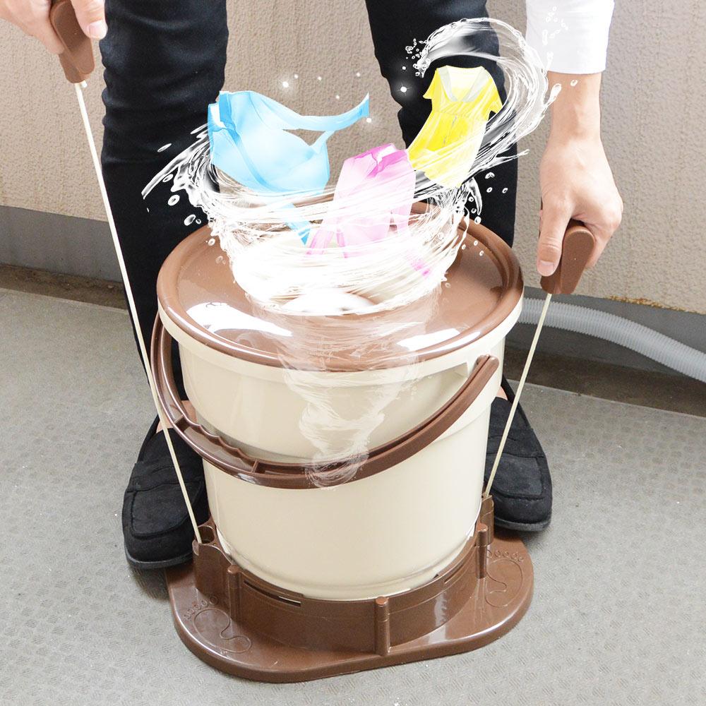 電気いらずの手動脱水機 デリケートな衣類や靴も簡単にやさしく脱水できる 『手で回す強力脱水機「ミズキリスピナー」』を発売開始