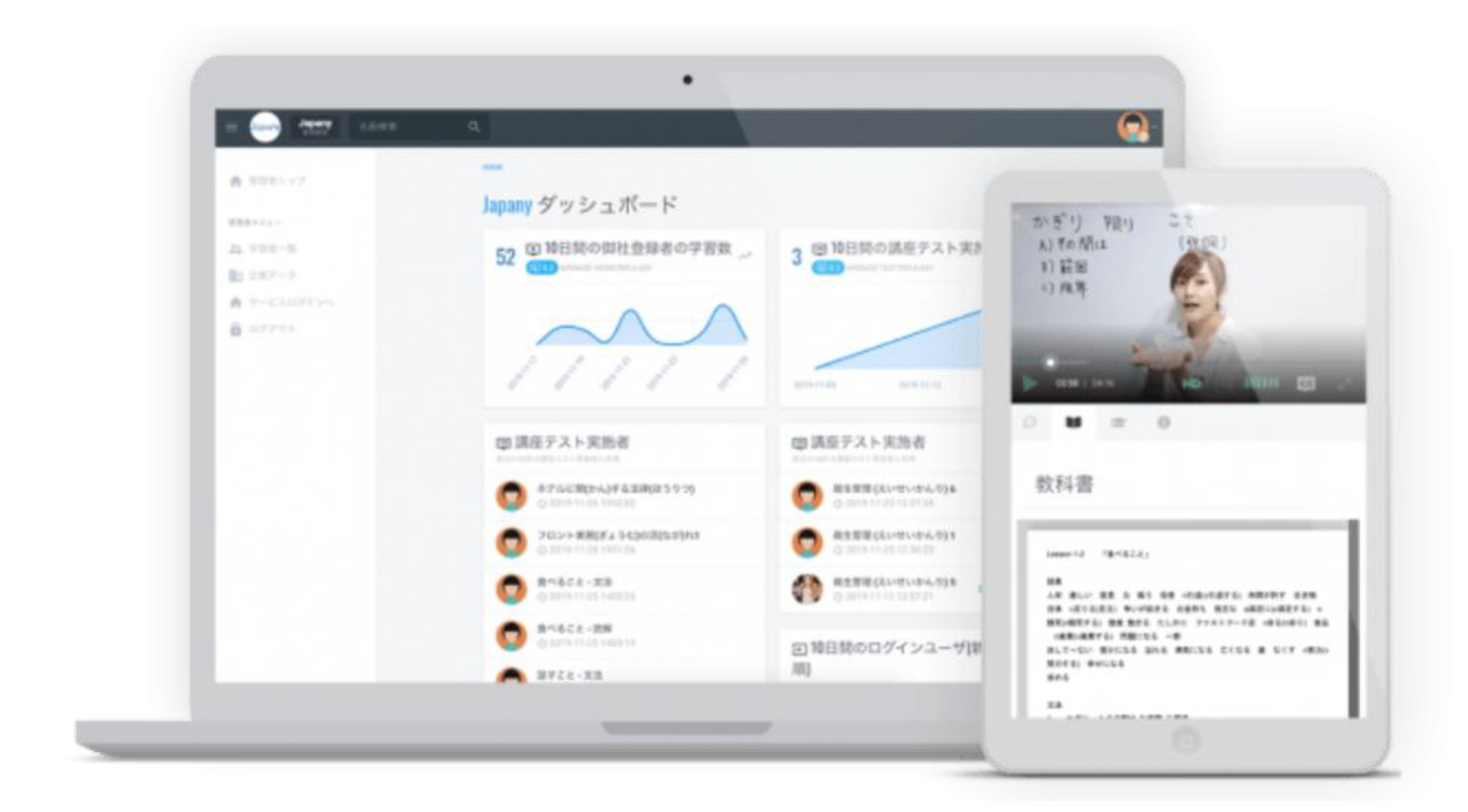 千葉地域開発協同組合様が、外国人技能実習生の入国後支援として、 オンライン日本語学習教材「Japany Language」を導入 ~オンライン学習の導入により、実習生の日本語学習教育を充実~