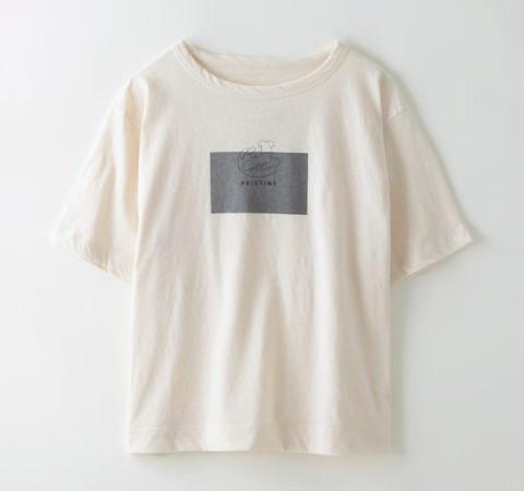 リコットン半袖Tシャツ