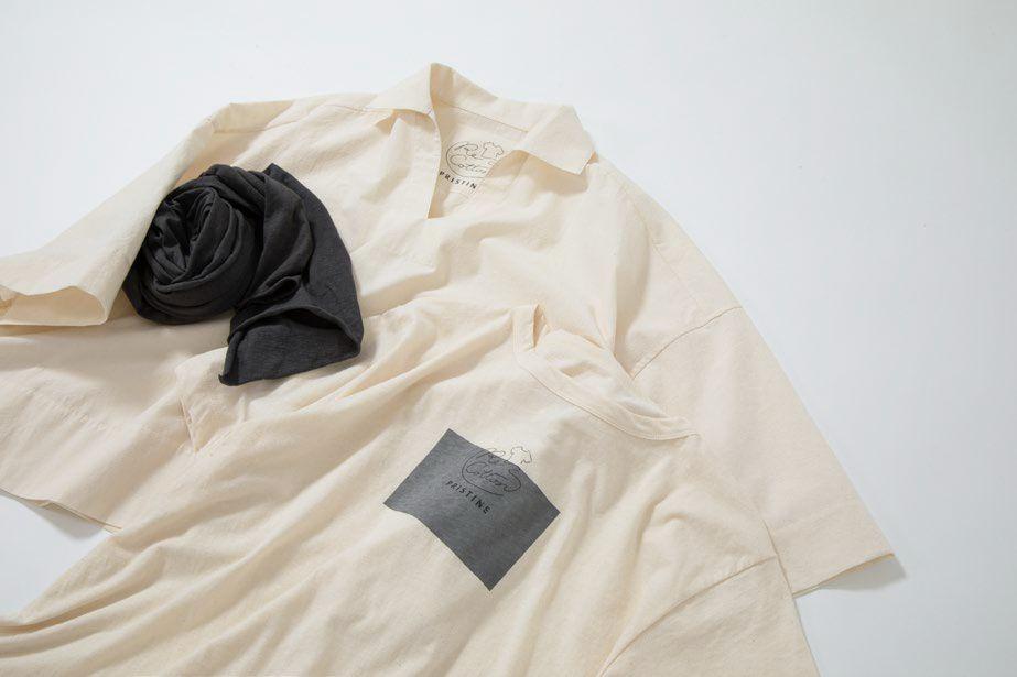 衣類の生産過程で出る布を回収して新たな製品を作る プリスティン、リコットンシリーズより新作登場